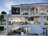 Photo Modern Queensland riverside luxury